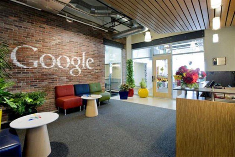 محل کار کارمندان گوگل Google