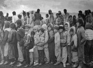 صف مرگ تلخ ترین عکس تاریخ یادگاری از مجاهدین خلق و عراق در جنگ