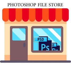 فایل PSD بفروشید ، راه اندازی فروشگاه فایل محصولات فتوشاپ و طراحی