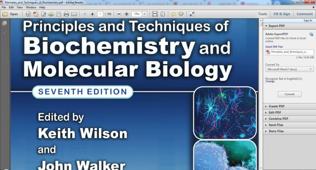 <span>دانلود pdf کتاب تکنیک های بیوشیمی و سلولی واتسون ویرایش ۷</span>