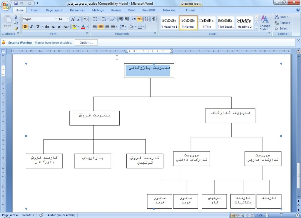 <span>گزارش کارورزی رشته حسابداری در شرکت سودا شیمی</span>