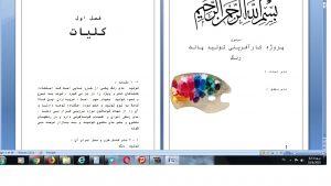 دانلود پروژه کارآفرینی تولید پالت رنگ ورد