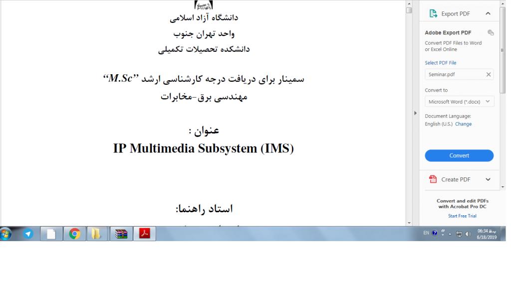 <span>IP Multimedia Subsystem (IMS)</span>